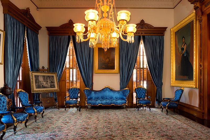Blue Room - Iolani Palace