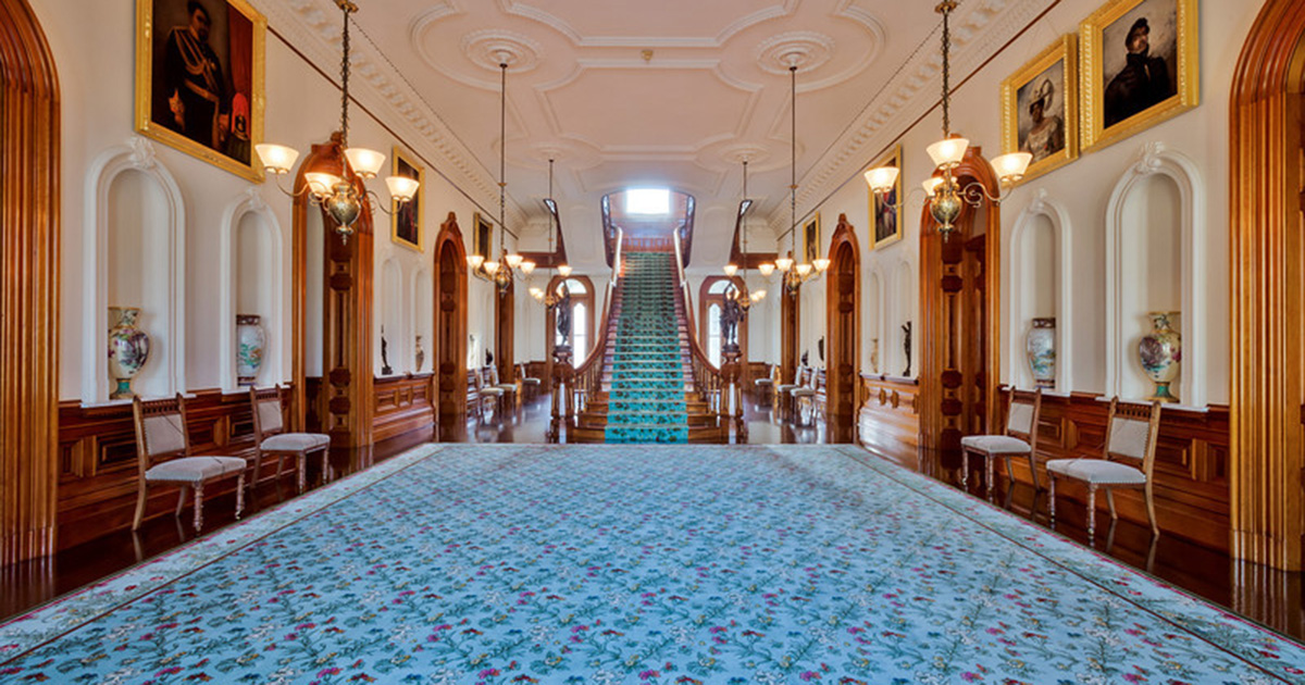 Grand Hall Iolani Palace