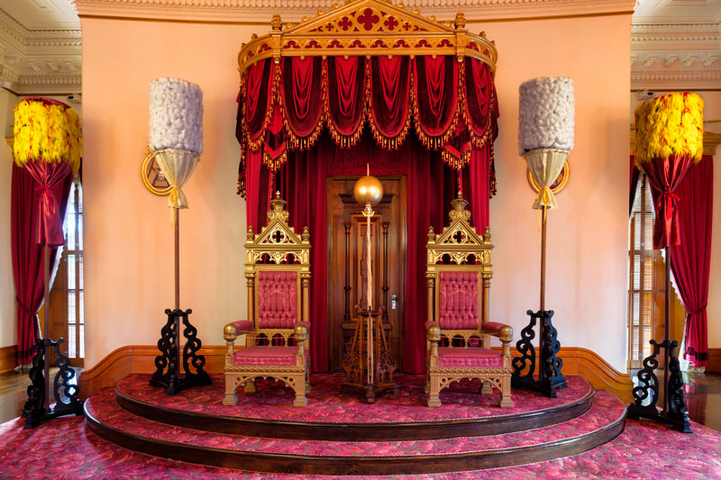 Throne Room Iolani Palace