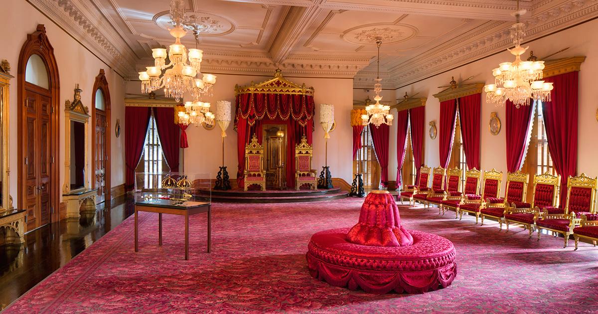 Throne Room - Iolani Palace